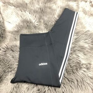 Adidas | Women's 7/8 Length Leggings | Grey